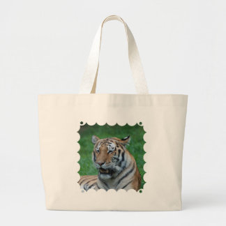 Growling Tiger Canvas Bags