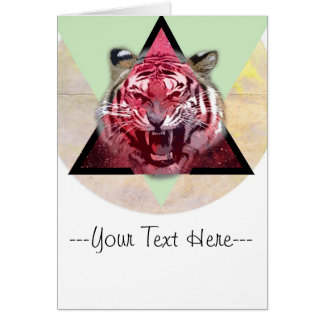 Growling Tiger Card