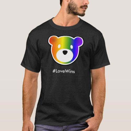 GROWLr LoveWins Dark T_Shirt