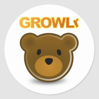 GROWLr Sticker