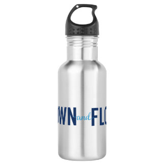 Grown and Flown Logo 2 Stainless Water Water Bottle
