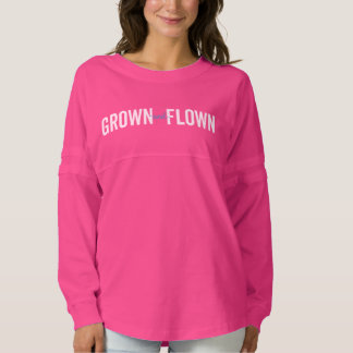 Grown and Flown Pink Athletic Jersey
