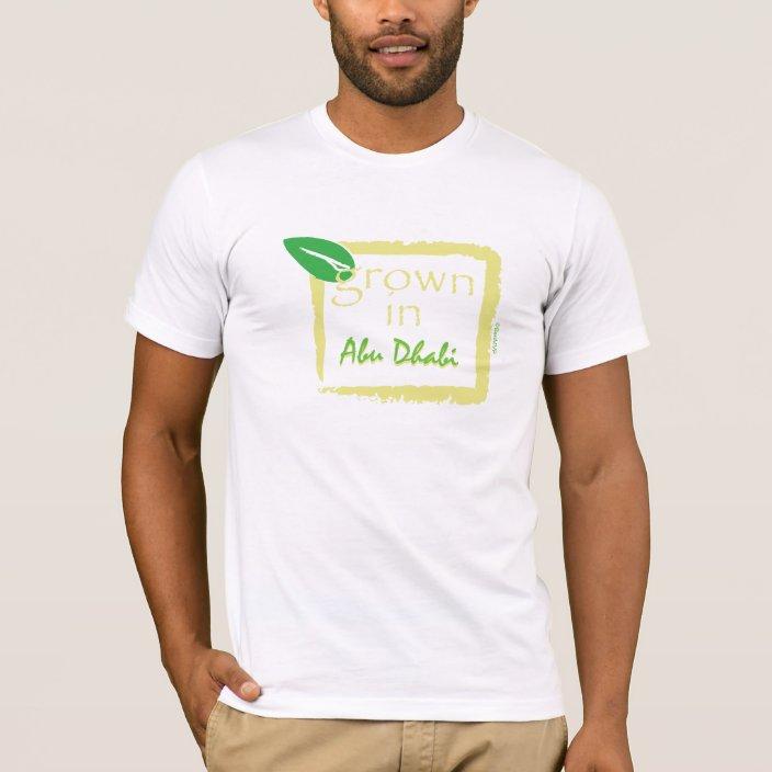 Grown in Abu Dhabi T-shirt
