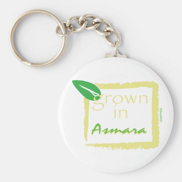 Grown in Asmara Keychain