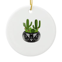 GROWN IN BEAUTY CERAMIC ORNAMENT