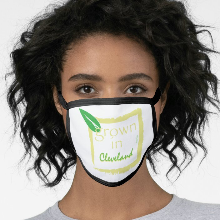 Grown in Cleveland Face Mask