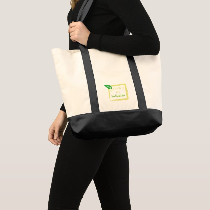 Grown in Green Mountain State Tote Bag