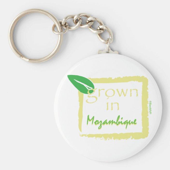 Grown in Mozambique Keychain