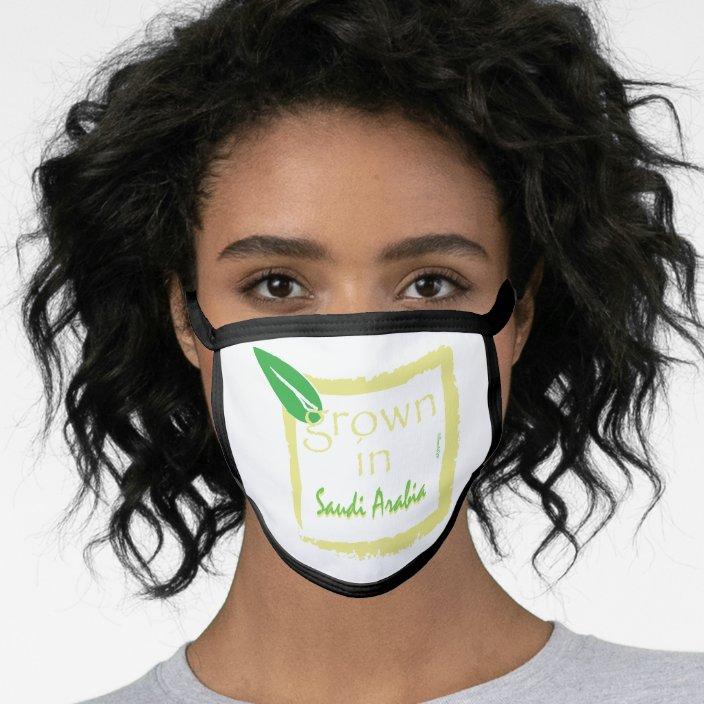 Grown in Saudi Arabia Face Mask