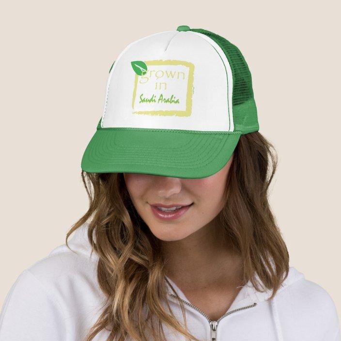 Grown in Saudi Arabia Hat