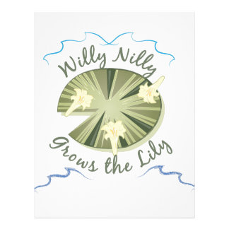 Grows The Lily Letterhead