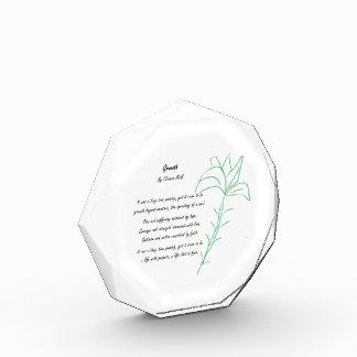 Growth Acrylic Award