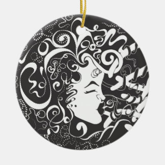 Growth and Harmony Ceramic Ornament