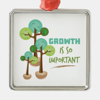 Growth Important Metal Ornament