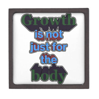 Growth is not just for the body gift box