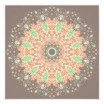 Growth Mandala 5.25x5.25 Square Paper Invitation Card