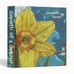 Growth of a Garden (Euphoria Gardener's Binder) 3 Ring Binder