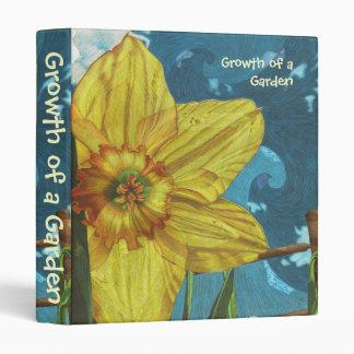 Growth of a Garden (Euphoria Gardener's Binder) 3 Ring Binder