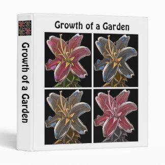 Growth of a Garden (Stargazer Gardener's Binder)