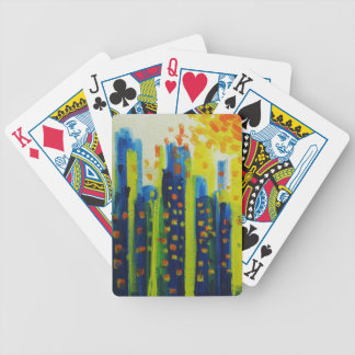 growth patterns bicycle playing cards