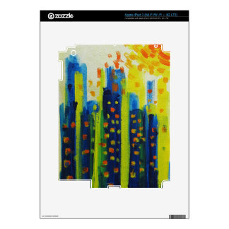 growth patterns decals for iPad 3