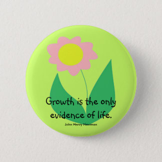 GROWTH PINBACK BUTTON