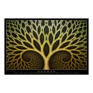 Growth Poster at Zazzle