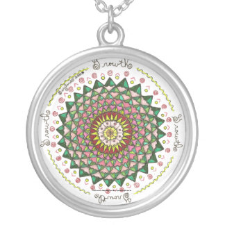 Growth- Round Necklace