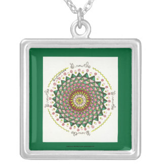 Growth - Square necklace
