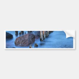 Groyne on the Baltic Sea coast Bumper Sticker