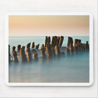 Groynes on the Baltic Sea coast Mouse Pad