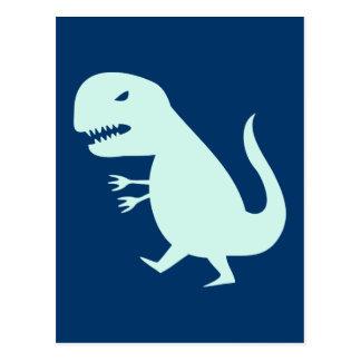 Grr Dinosaur Postcard