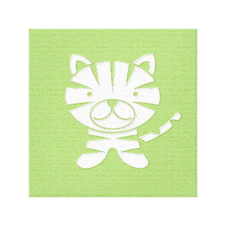 Grr Tiger Wrapped Canvas