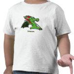Grreenie the dragon tee shirt