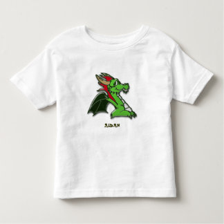 Grreenie the dragon toddler t-shirt