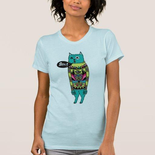 ¡Grrr! Camiseta de los chicas