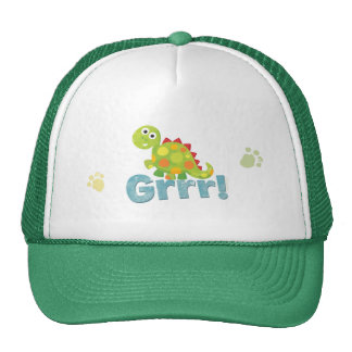 ¡Grrr! Gorra del dinosaurio