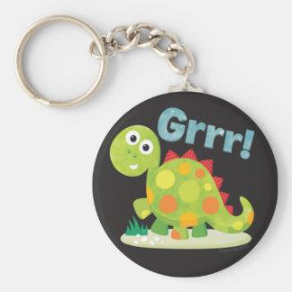 ¡Grrr! Llavero del dinosaurio