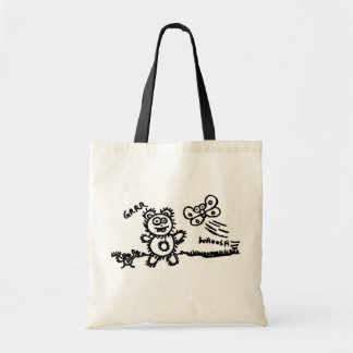 Grrr! Whoosh! Tote Bag