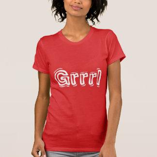 Grrrl Women's Apparel Crew Neck T-Shirt