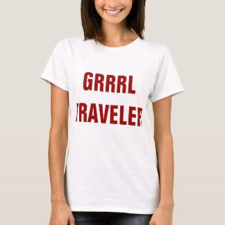 GRRRLTRAVELER white shirt