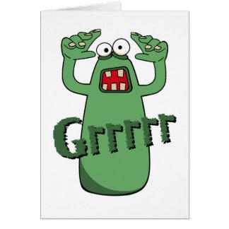 Grrrrr Card