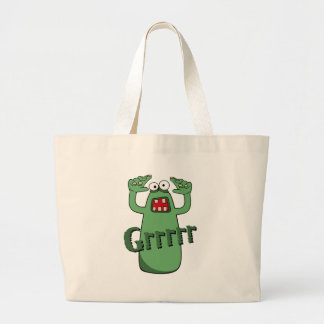 Grrrrr Large Tote Bag