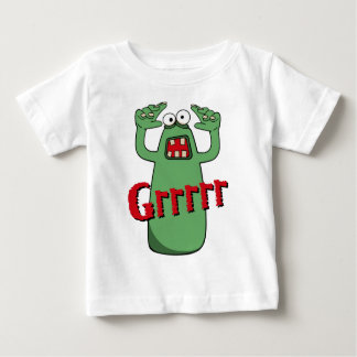 Grrrrr_Red Baby T-Shirt