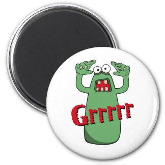 Grrrrr_Red Fridge Magnets