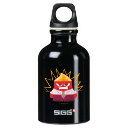 SIGG Traveller Water Bottle (0.6L) with Anger from Pixar's Inside Out design