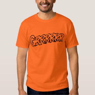 ¡Grrrrrr! Camiseta Poleras