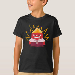 Kids' Hanes TAGLESS® T-Shirt with Anger from Pixar's Inside Out design