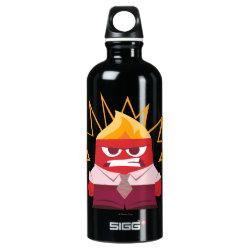 SIGG Traveller Water Bottle (0.6L) with Anger from Pixar's Inside Out design