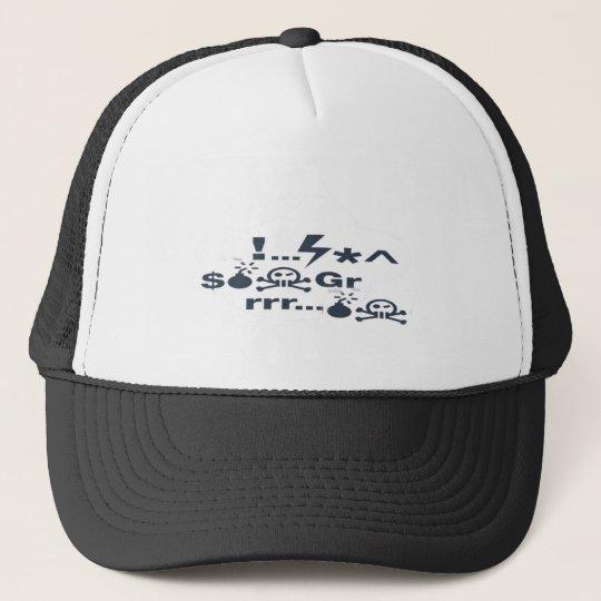 Grrrrrrr ...Gibberish Trucker Hat